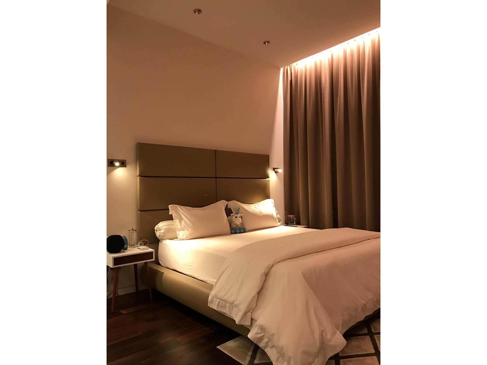 7A Swettenham ham Residential bedroom lighting project