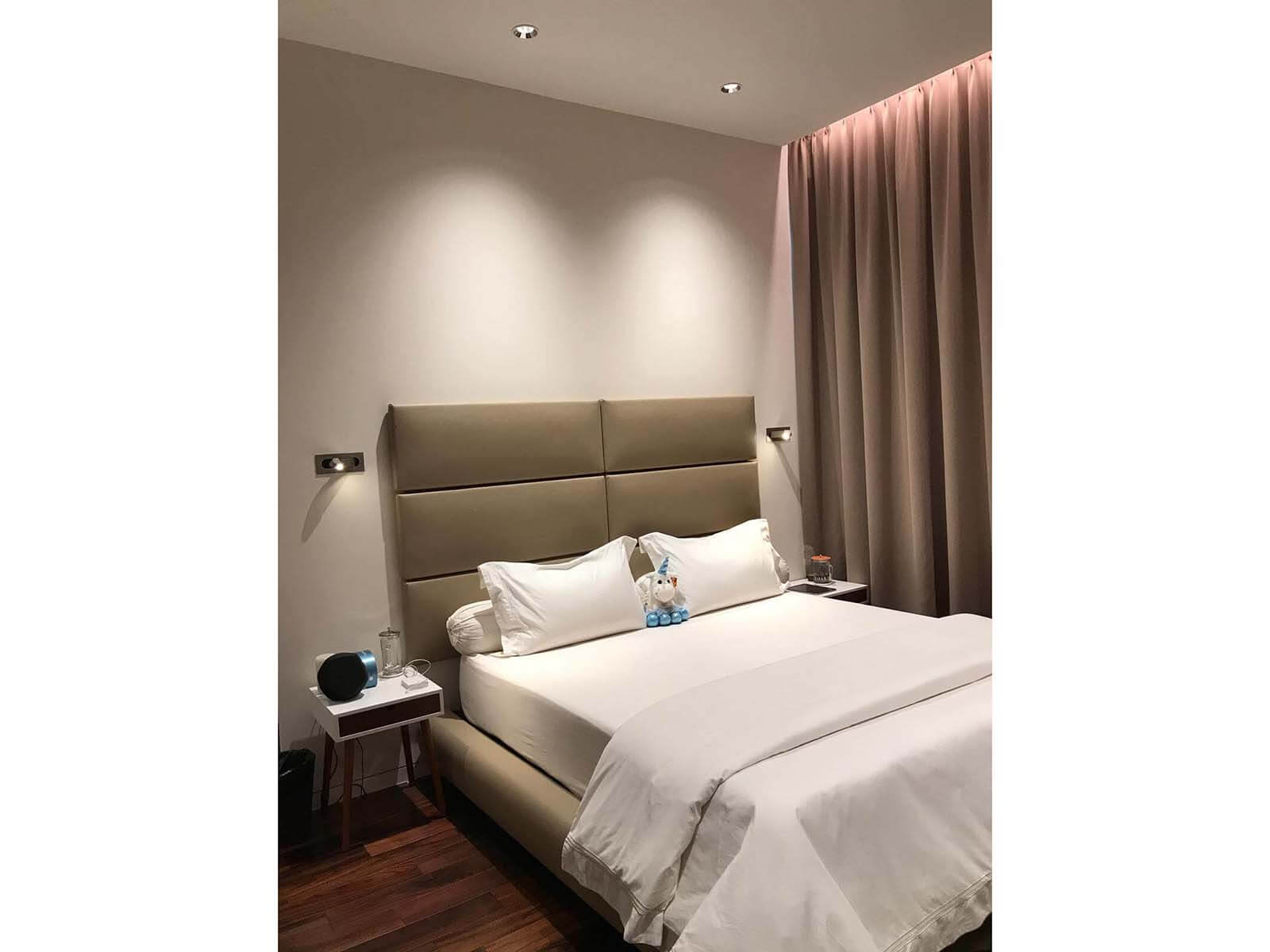 7A Swettenham ham Residential bedroom lighting project2