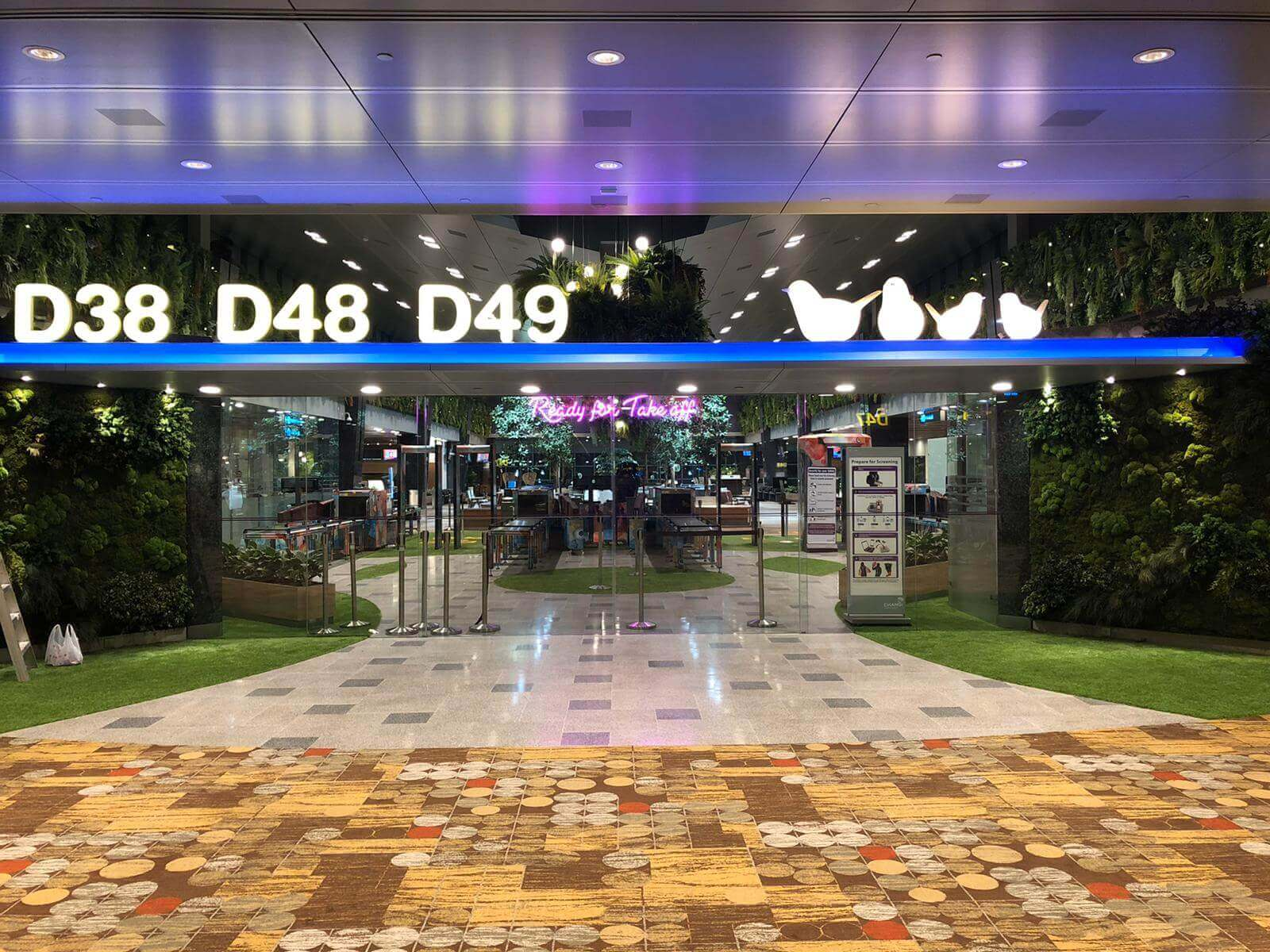 Changi airport project Terminal 1 departure hall 3