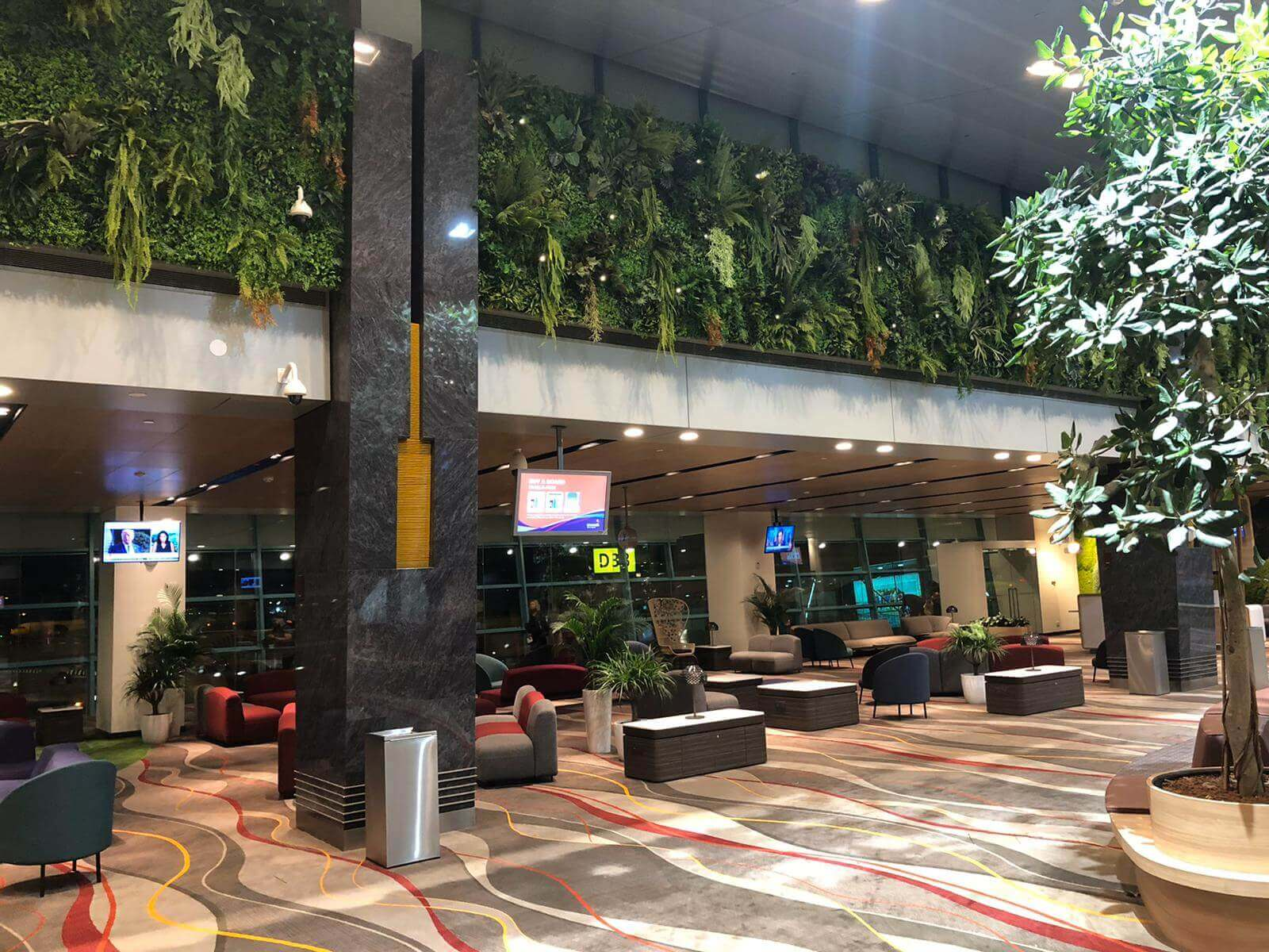 Changi airport project Terminal 1 departure hall 4