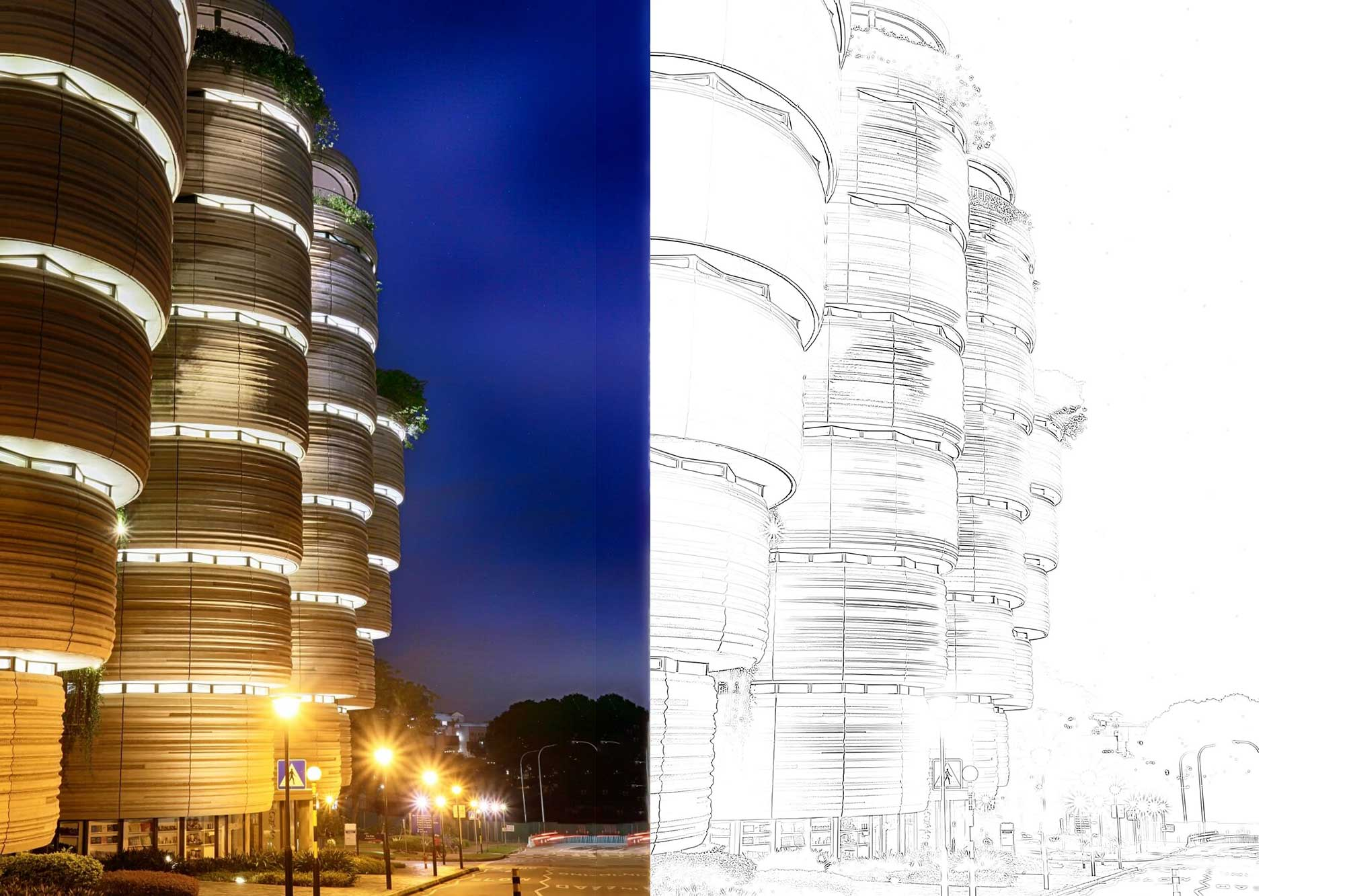 LEARNING HUB LIGHTING PREOJECT SINGAPORE