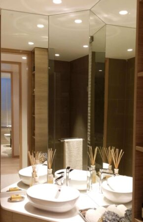 bathroom the crest lighting project