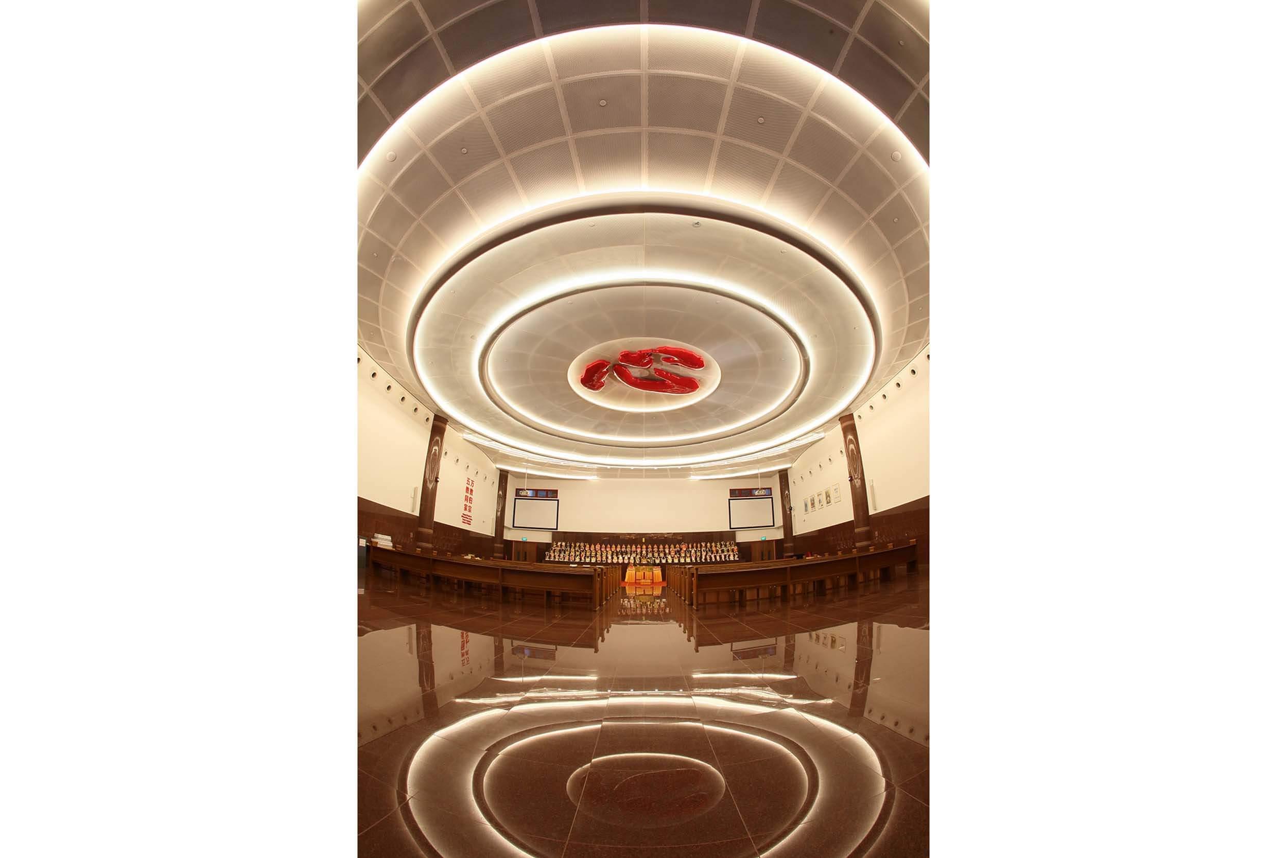 ceiling light temple light journey
