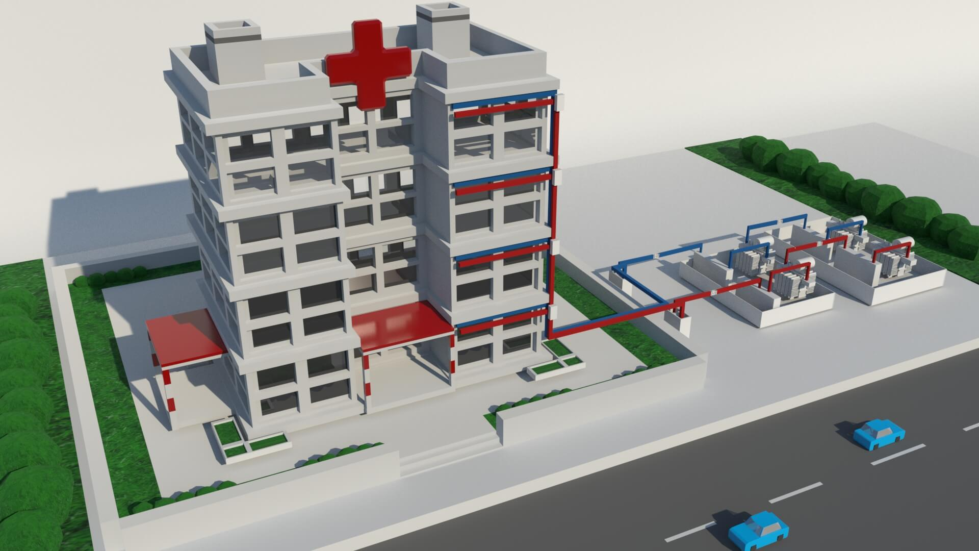 Power Distribution for Healthcare Application