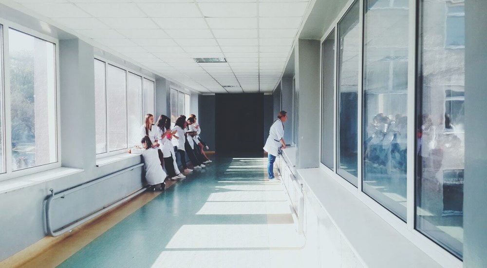 Reliable power distribution for hospital
