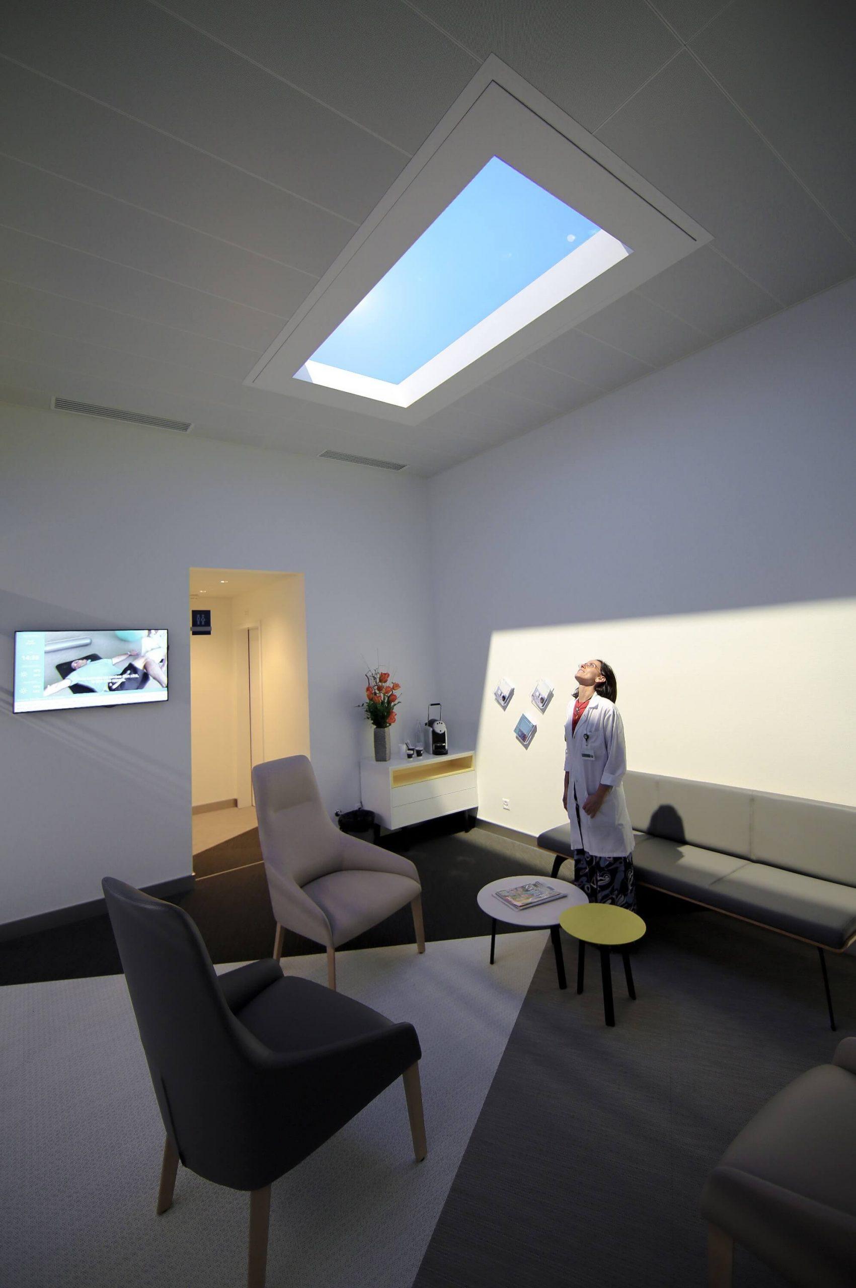 Virtual Sun Light for Healthcare
