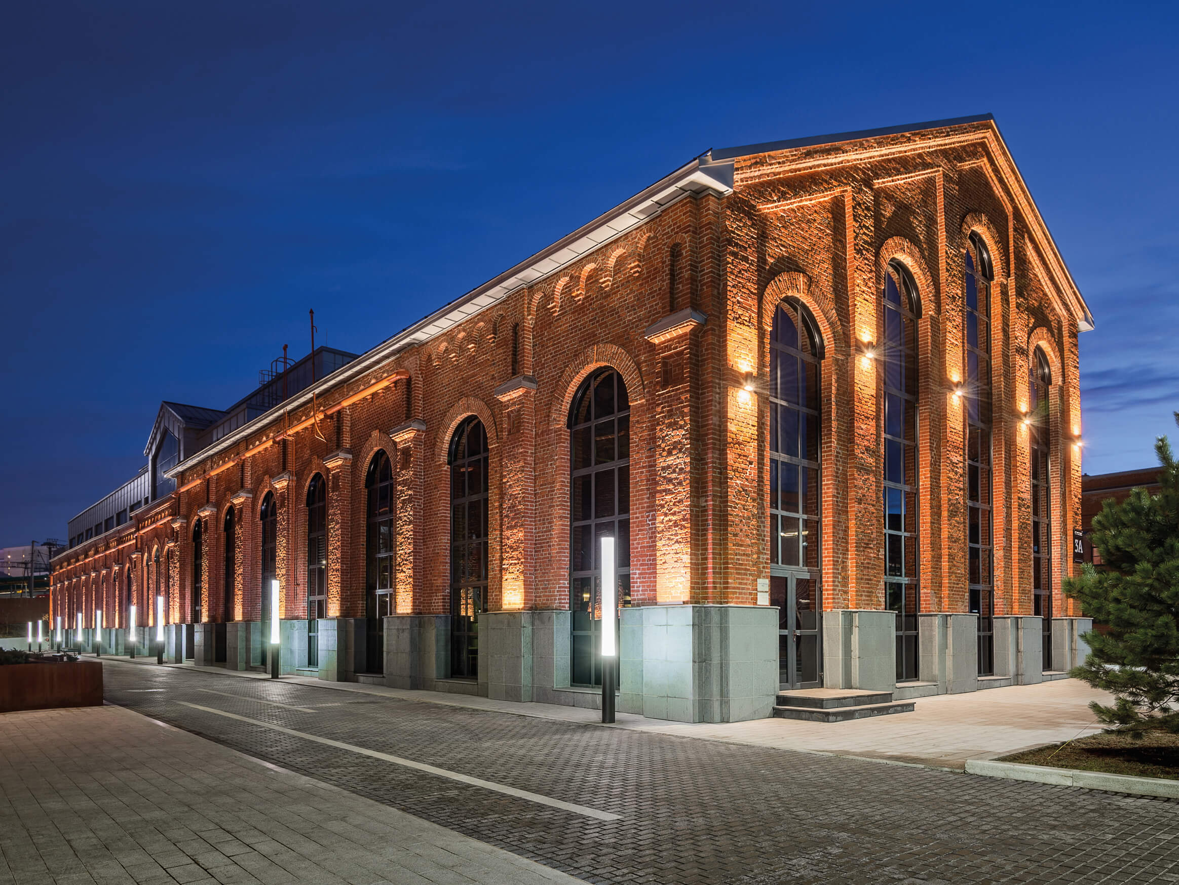 Arma Business Quarter Moscow Lighting Project Targetti