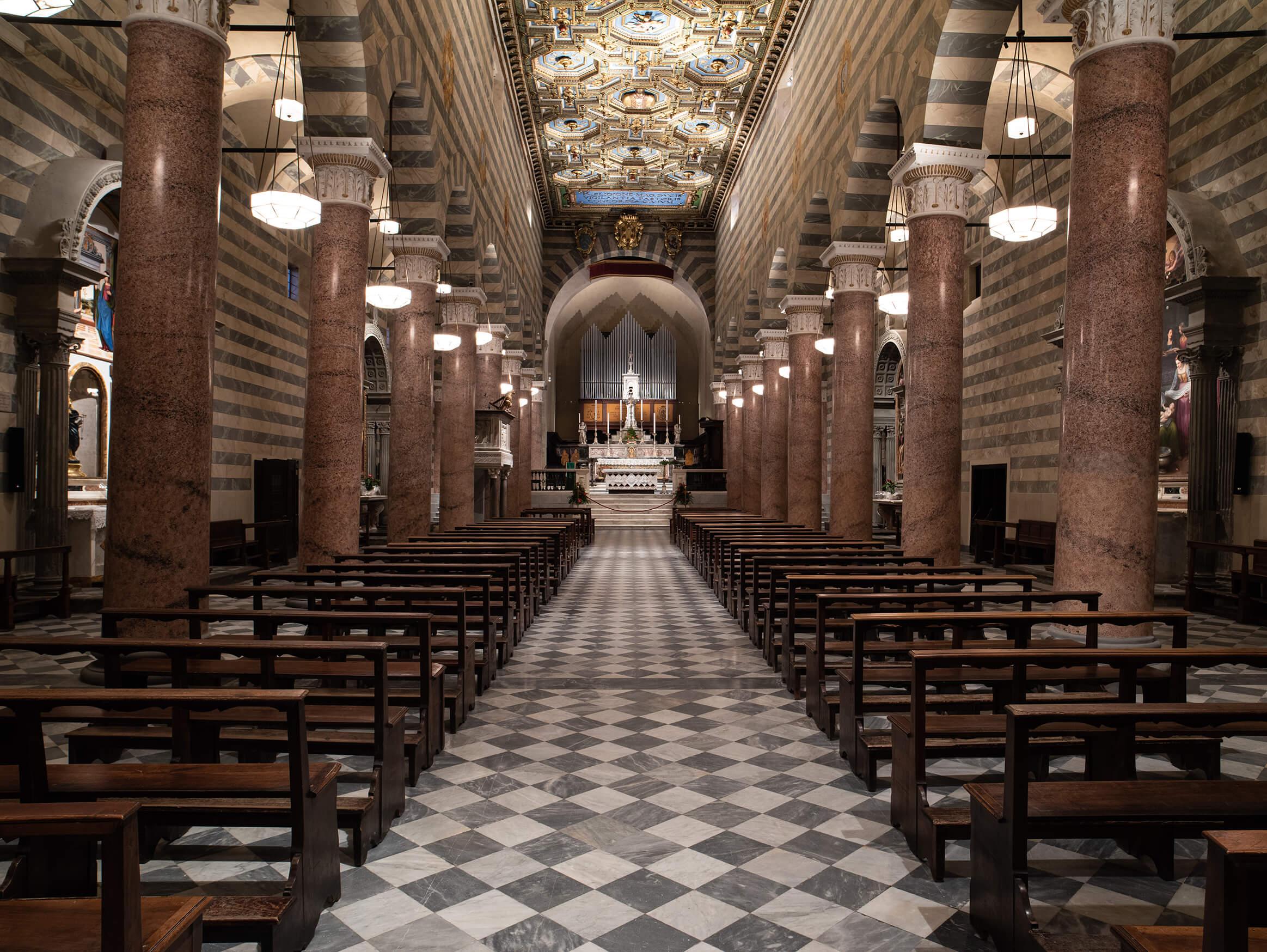 Cattedrale Santa Maria Assunta Lighting Project Targetti