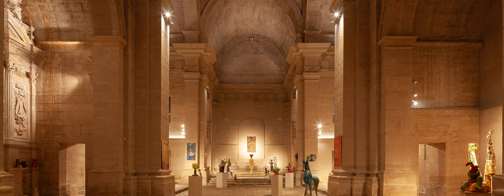 Chapelle du College Lighting Project Targetti