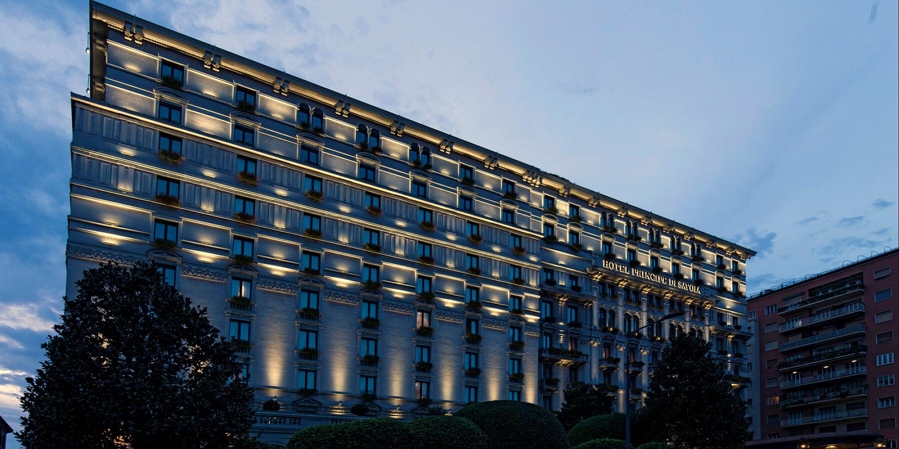 Hospitality Lighting Project Grand Hotel Principe di Savoia Milan
