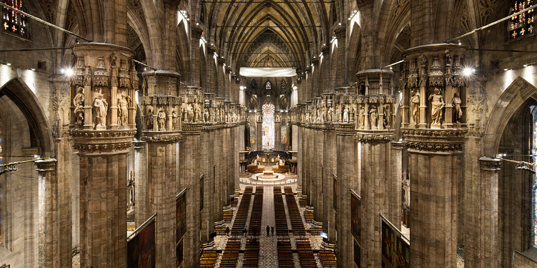 Sacred Lighting Project Milan Cathedral