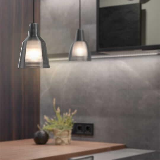 3D printed Industrial lamp