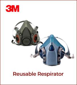 3M Respirator (Reusable)
