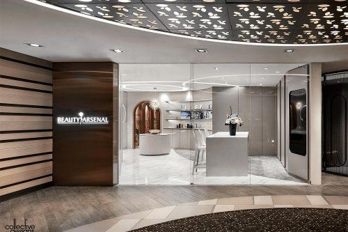 Collective Designs BA-Beauty Arsenal Salon - Retail Lighting