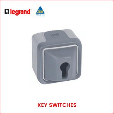 Legrand - PLEXO IP55_66 KEY SWITCHES