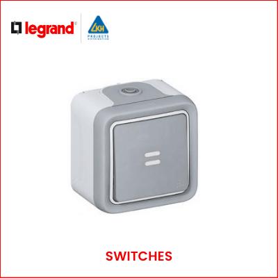 Legrand - PLEXO IP55_66 SWITCHES