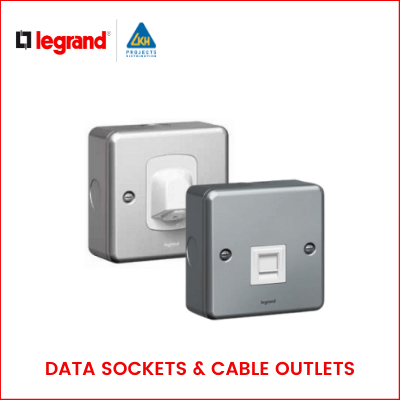 Legrand - SYNERGY METALCLAD DATA SOCKETS & CABLE OUTLETS