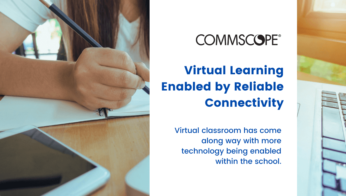 Virtual Learning Enabled by Reliable Connectivity